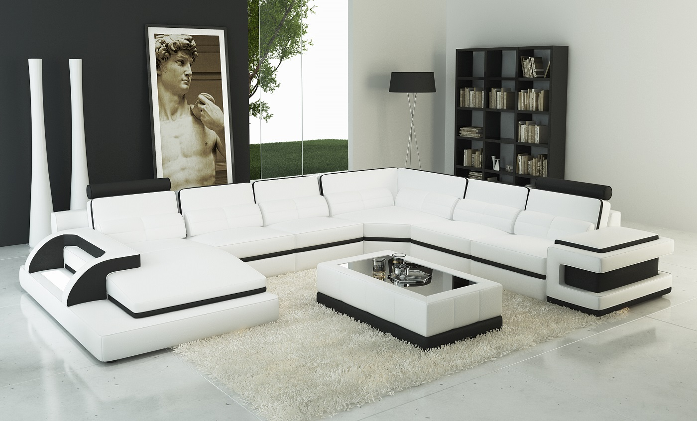 Torro Sectional Sofa With Led Lights