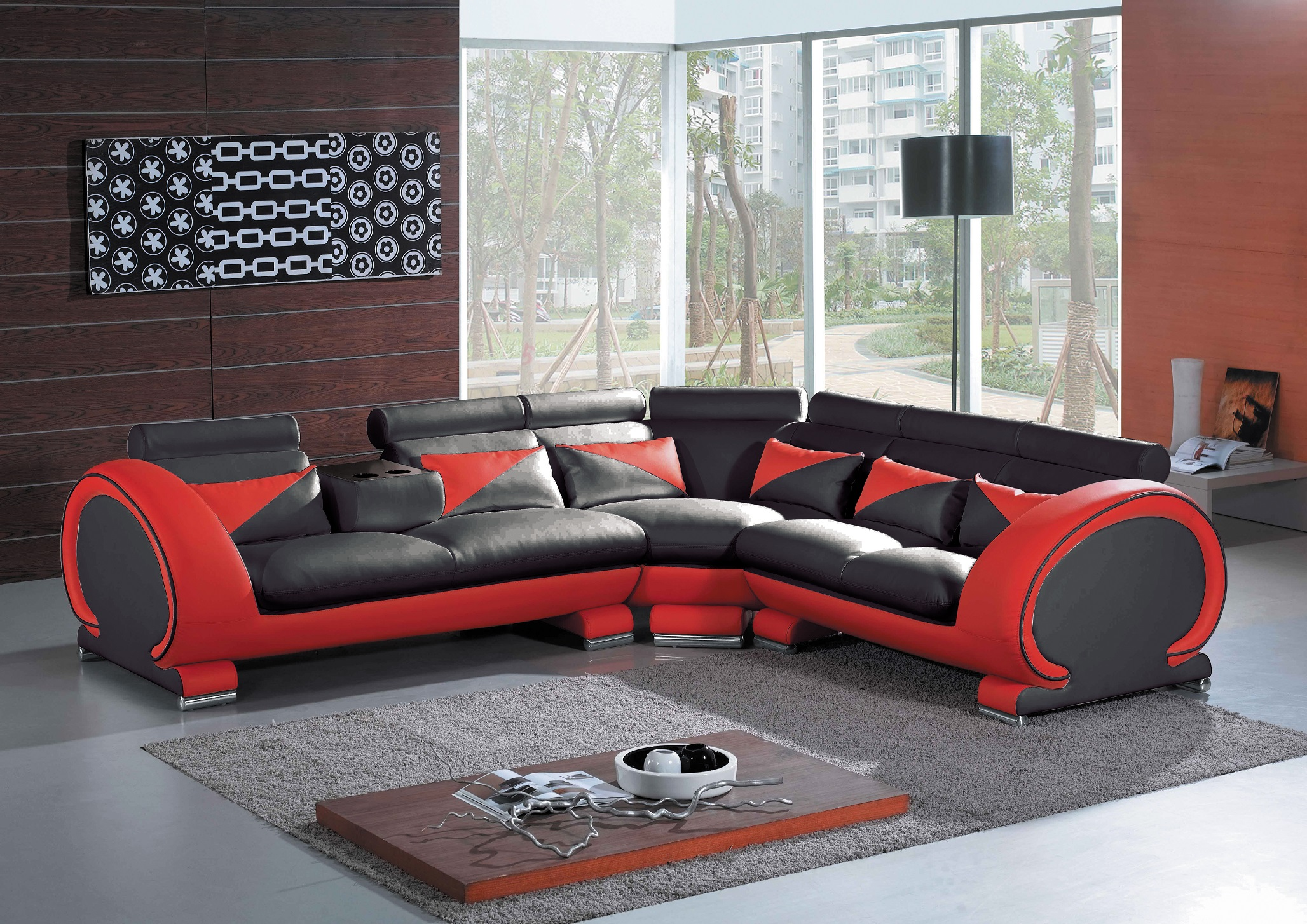 Red And Black Sectional Sofa Sectional Sofa Jacksonville Fl